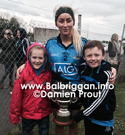 Aoife here with 2 of her greatest O'Dwyers followers, KerryAnn her niece and Sean Richardson her Buddy.