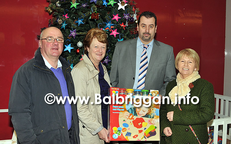 Pictured: Cllr Dermot Murray, Brigid Guilfoyle, Peter Carey, Centre Manager and Mary Murray
