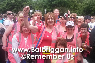 Some of the wonderful people who completed the Flora Ladies Mini Marathon on behalf of Remember Us