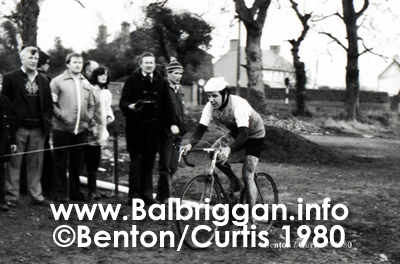 Stephen Roche winning his last amateur race in Balbriggan before signing up for his successful career on the Continent