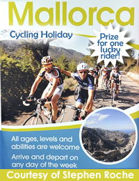 stephen_roche_cycling_holiday_mallorca_prize